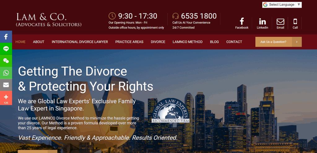 best divorce lawyer singapore