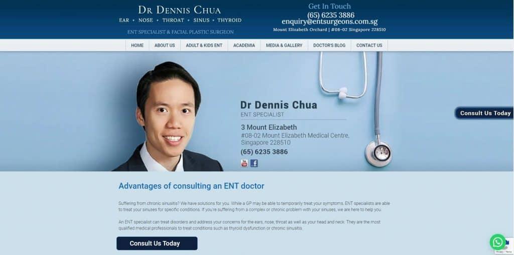 best ent specialist in singapore_dr dennis chua