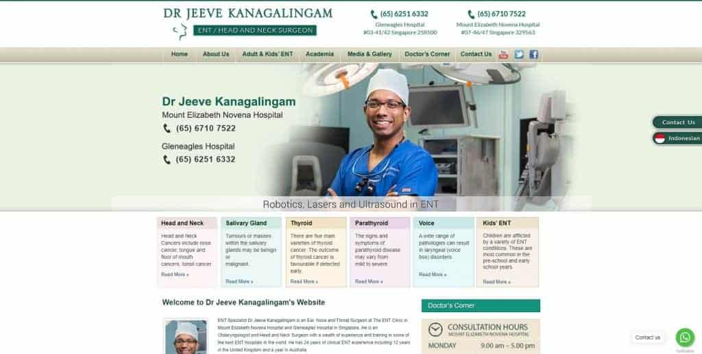best ent specialist in singapore_dr jeeve kanagalingam
