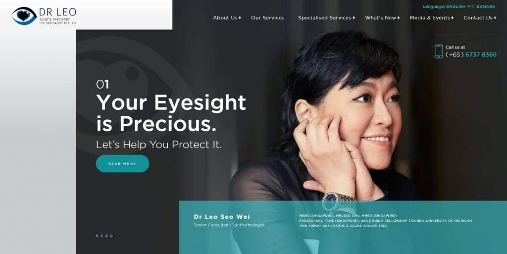 best eye clinic in singapore_dr leo