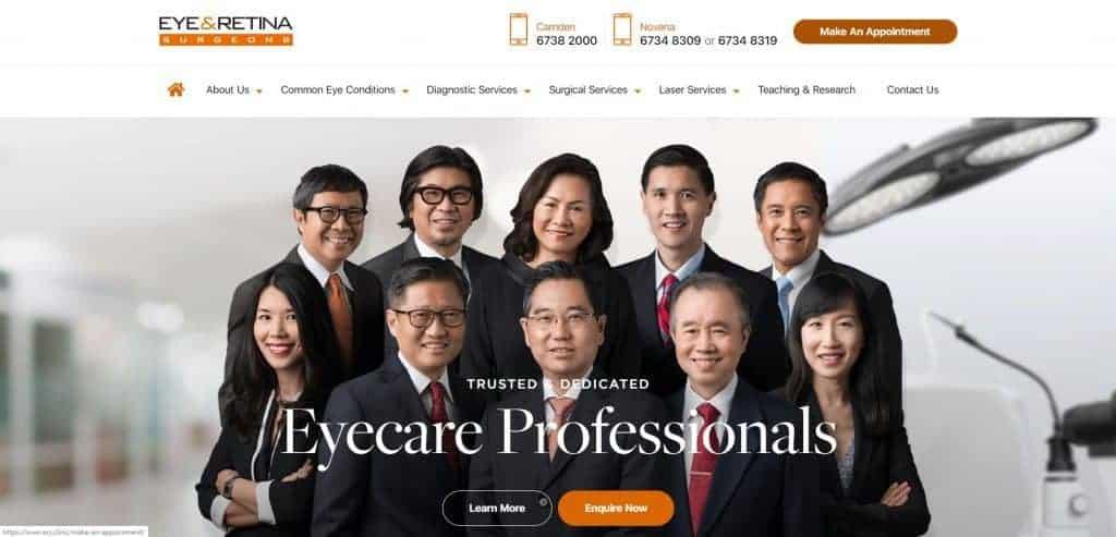best eye clinic in singapore_eye and retina surgeons