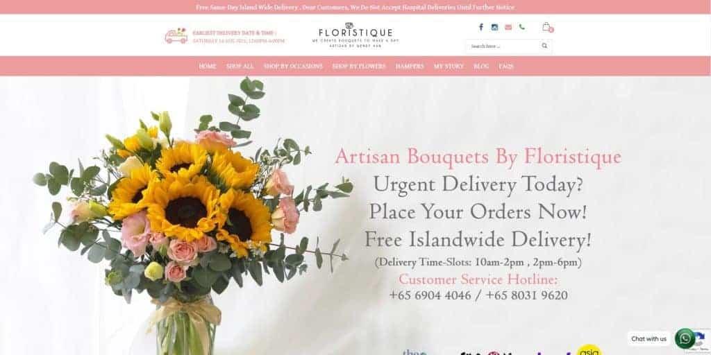 best florist in singapore_floristique