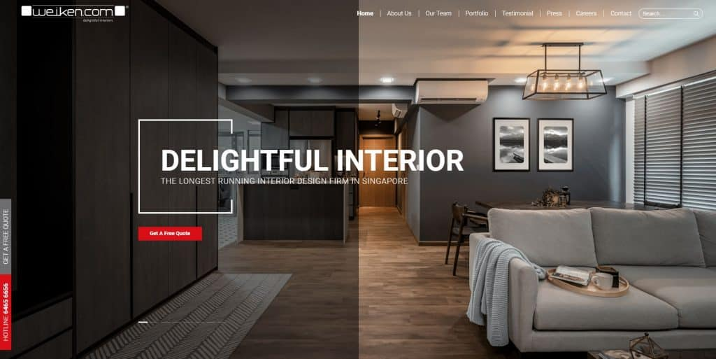 best interior design in singapore_weiken