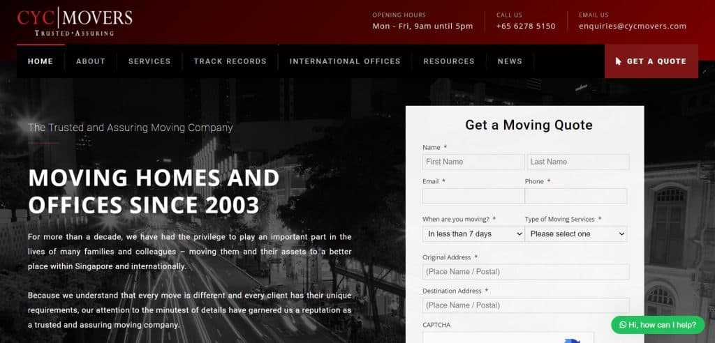 best movers in singapore_cyc movers