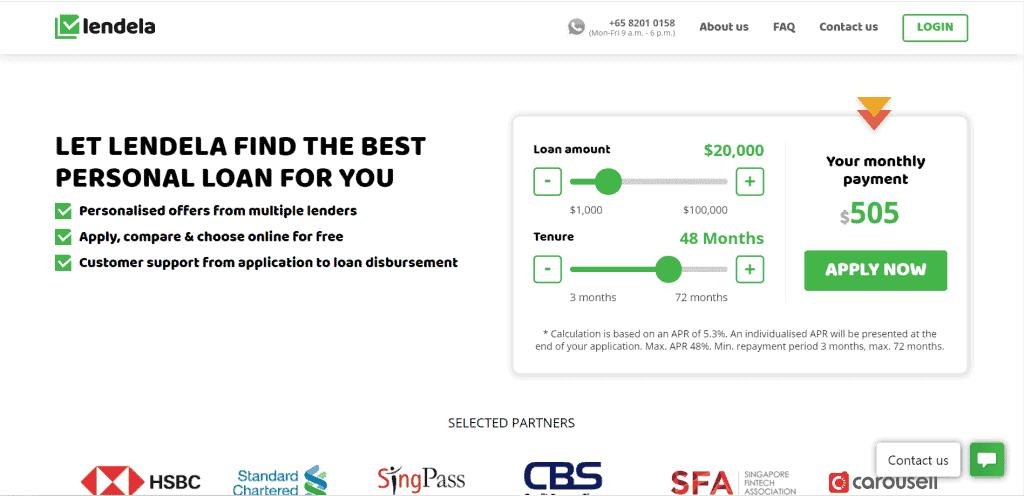 best personal loan singapore
