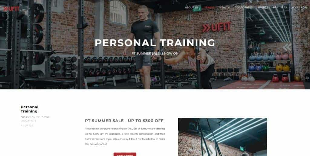 best personal trainer in singapore_ufit