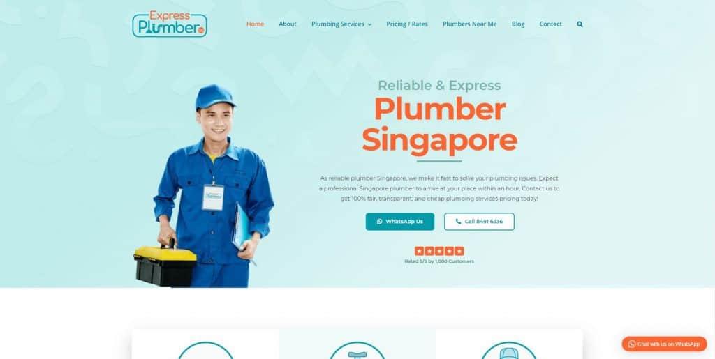 best plumbers in singapore_express plumber