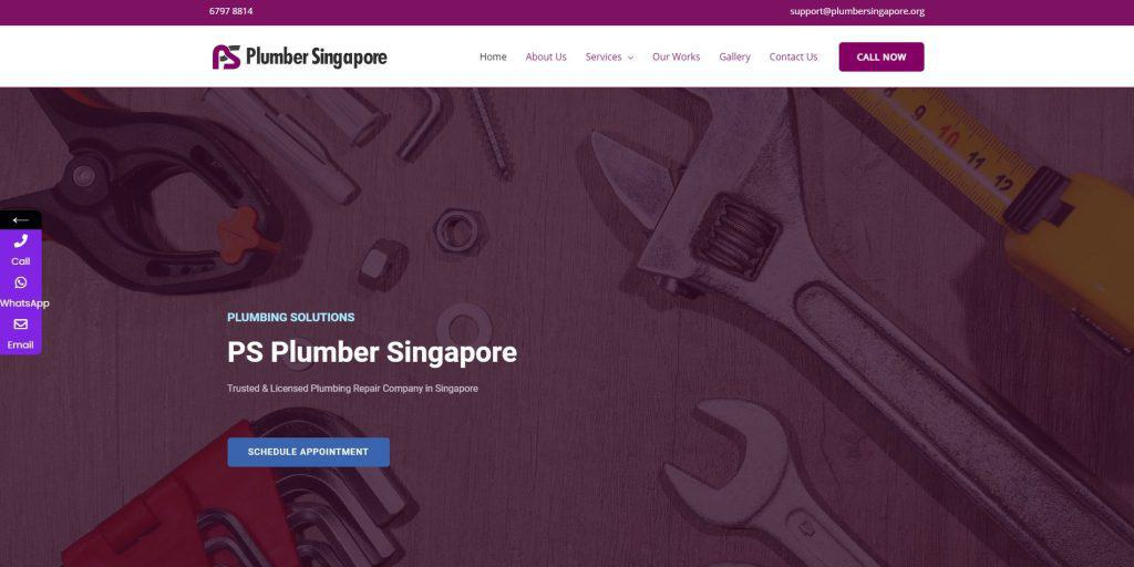 best plumbers in singapore_ps plumber singapore_new website