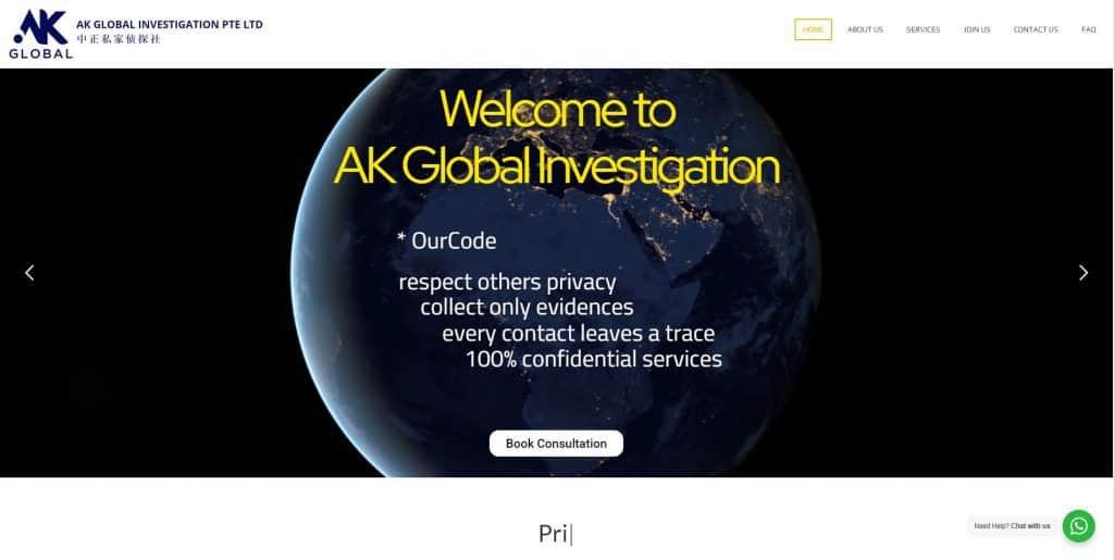 best private investigators in singapore_ak global