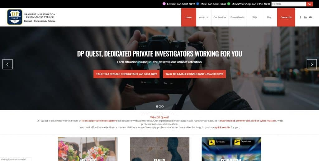 best private investigators in singapore_dp quest investigation
