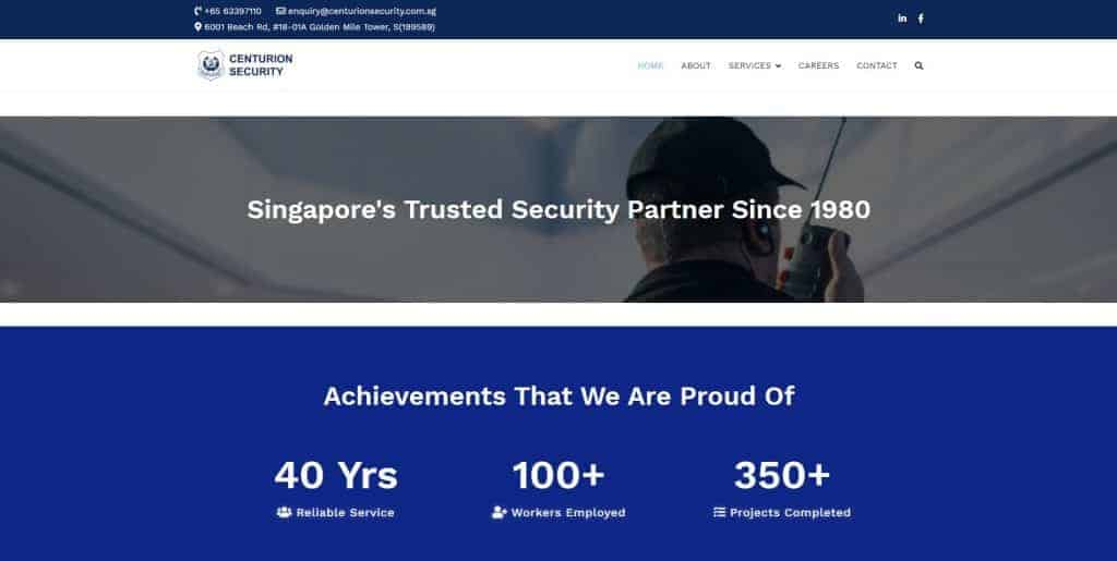 best security companies in singapore_centurion security