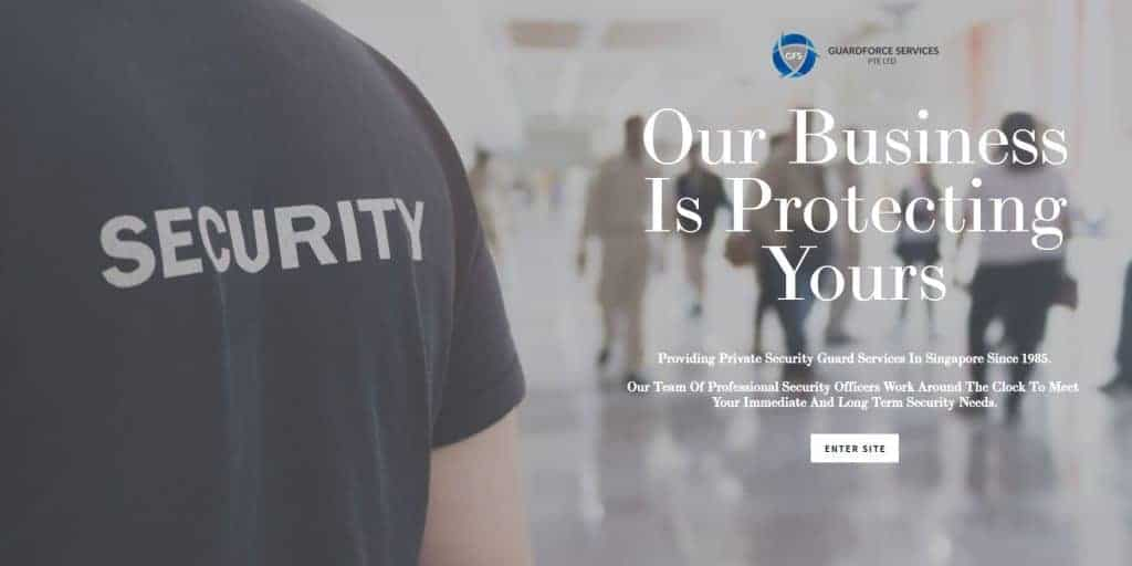 best security companies in singapore_guardforce services