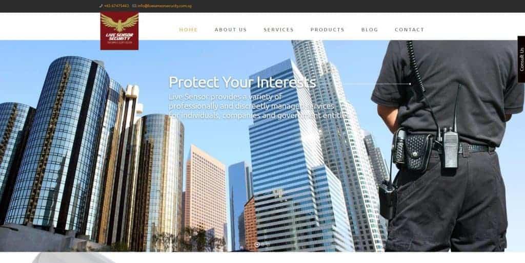 best security companies in singapore_live sensor security