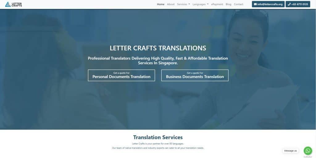 best translation services in singapore_letter crafts