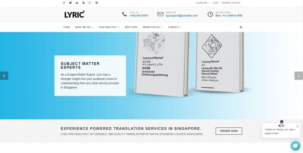 best translation services in singapore_lyric