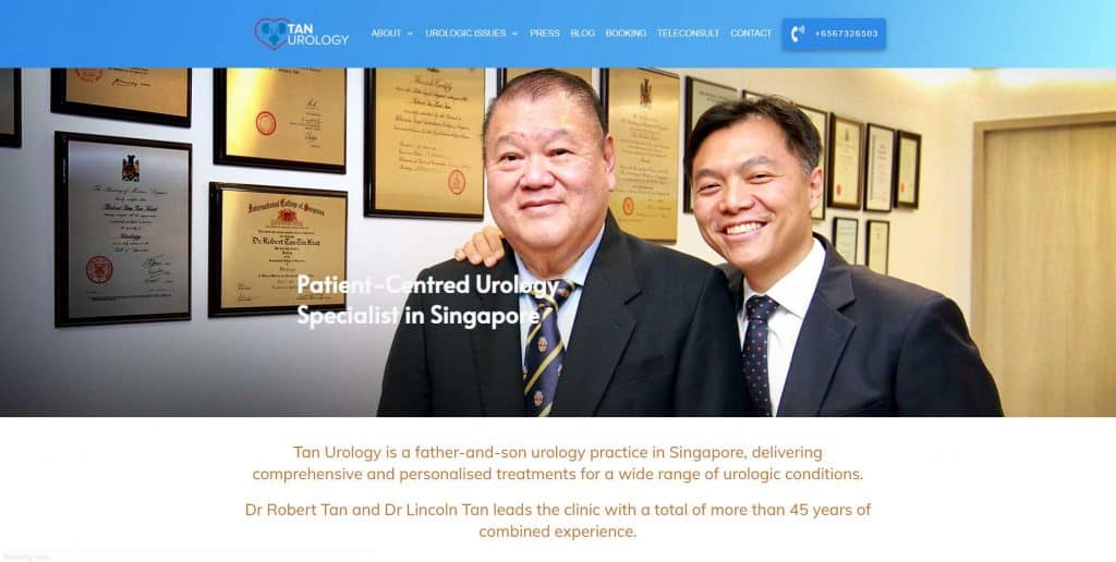best urologist in singapore_tan urology