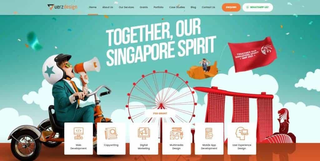 best website design in singapore_verz design
