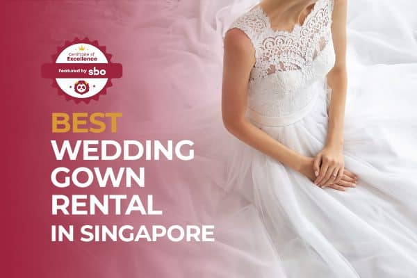 best wedding gown rental in singapore