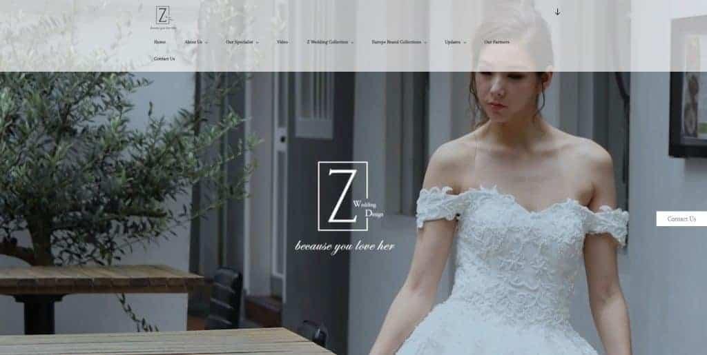 best wedding gown rental in singapore_z wedding design