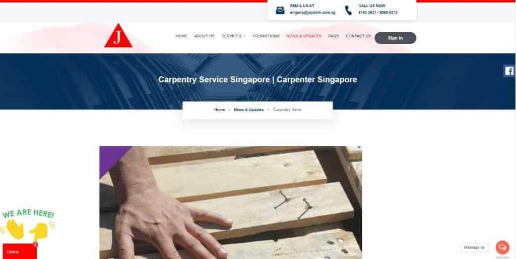 carpenters in singapore_joydom