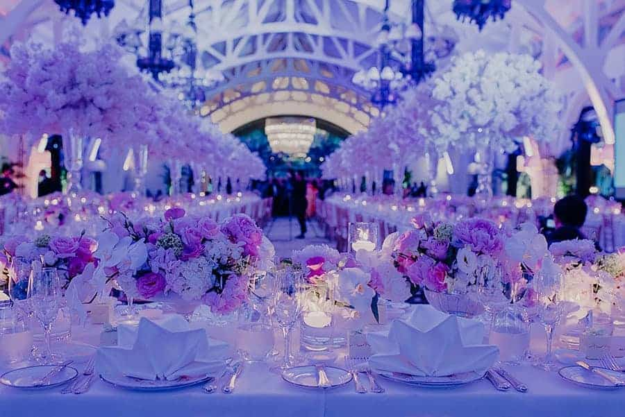 12 Wedding Planners in Singapore   Where Reality Is Better than Your Dreams Chère Wedding & Events Cherry Blossom Theme