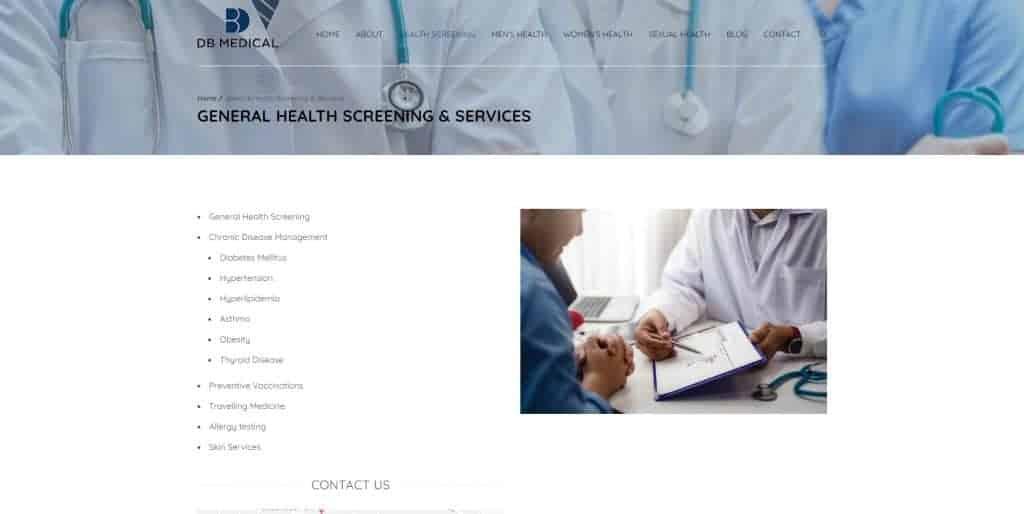 health screening in singapore_db medical