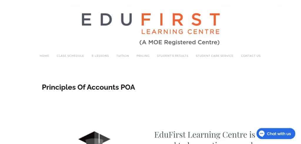 top poa tuition in singapore_edufirst learning centre