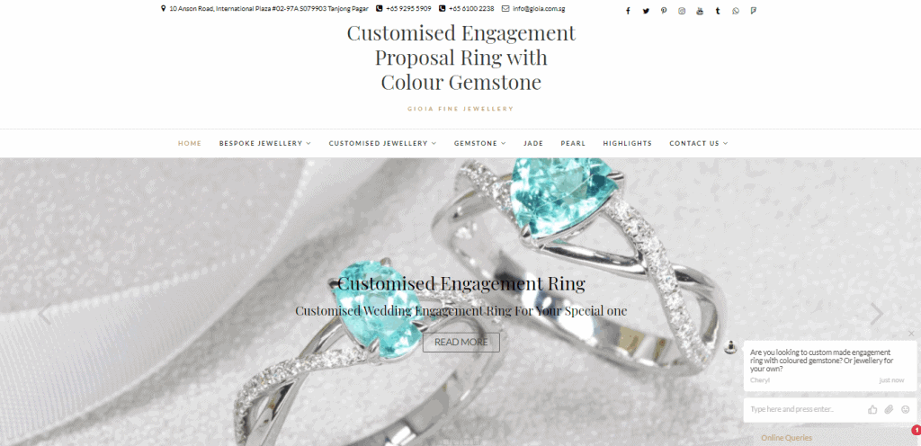 10 best engagement rings in singapore