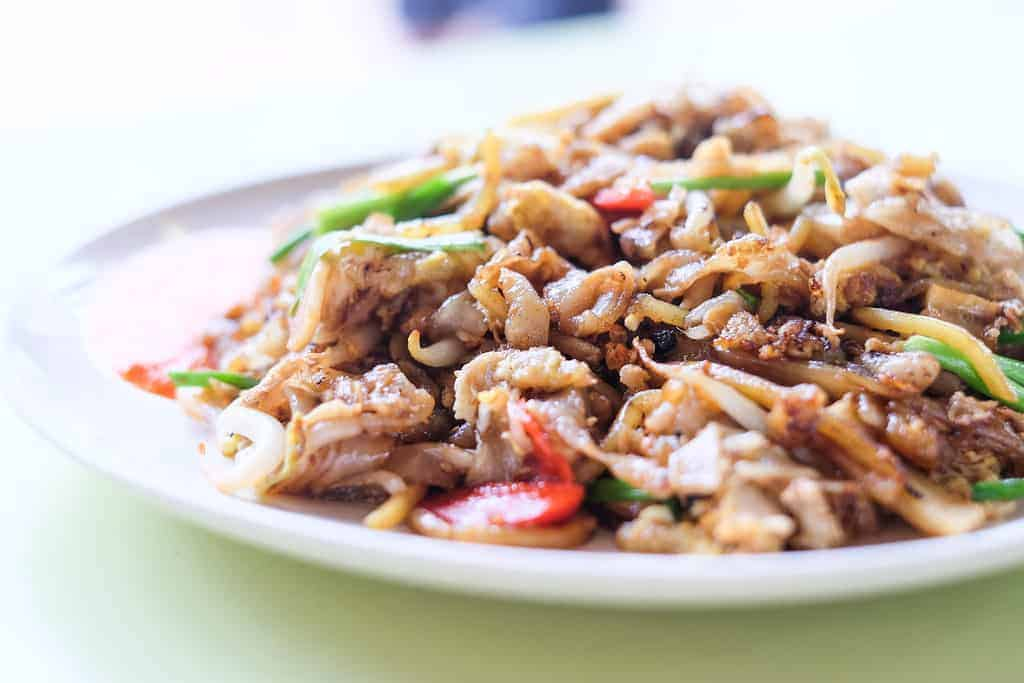 char kway teow in singapore