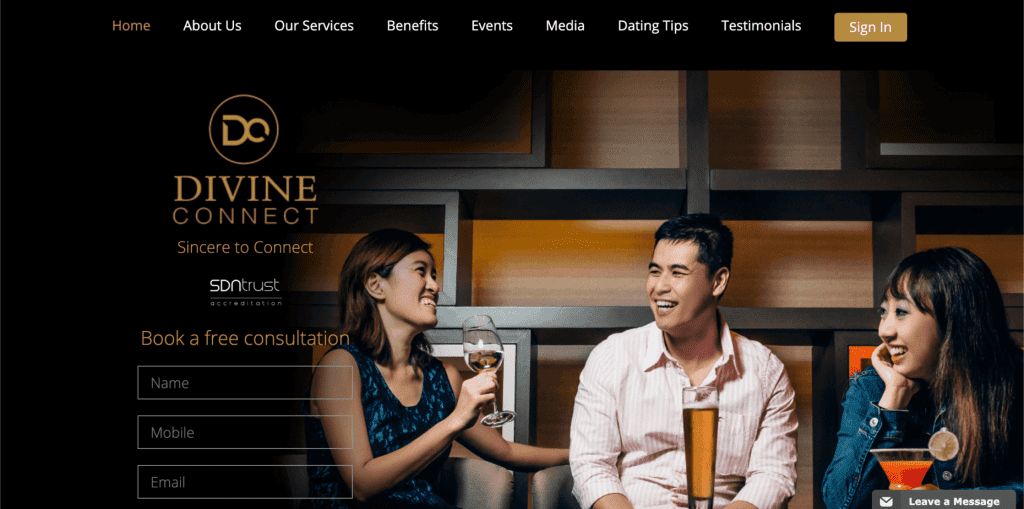best dating agency in singapore_divine connect