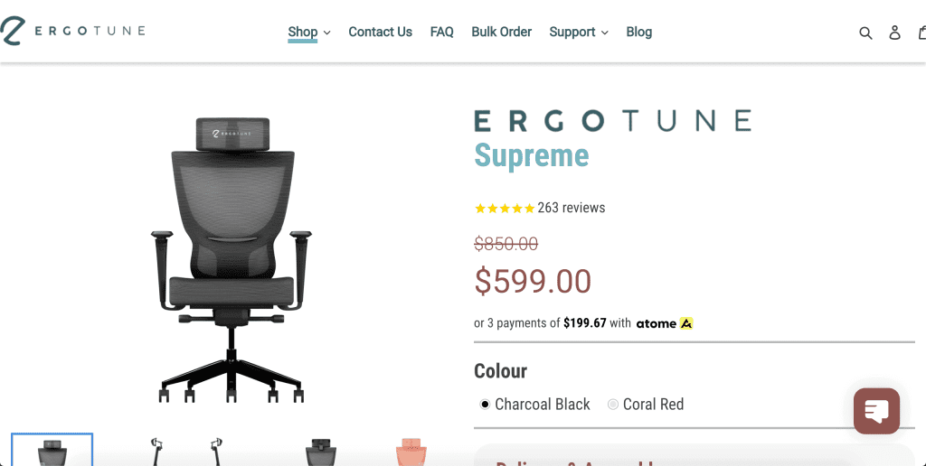 best office chairs in singapore_ergotune supreme