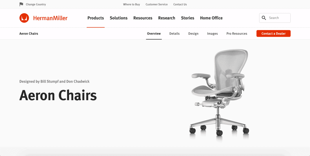 best office chairs in singapore_herman miller aeron remastered