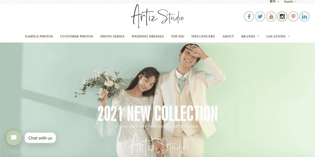 best bridal shop in singapore_korean artiz studio