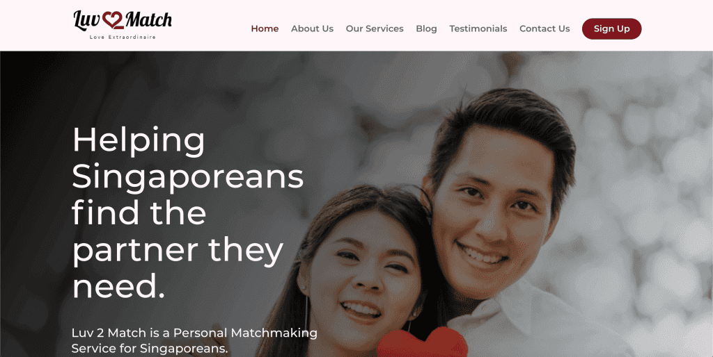 best dating agency in singapore_luv2match