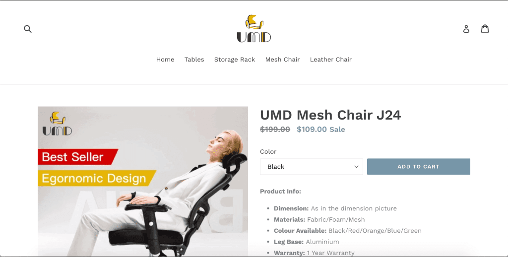 best office chairs in singapore_umd mesh chair J24