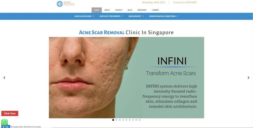 best acne treatment in singapore_apax
