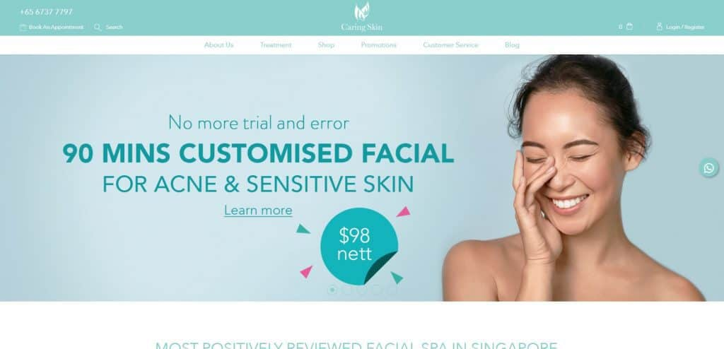 best acne treatment in singapore_caring skin