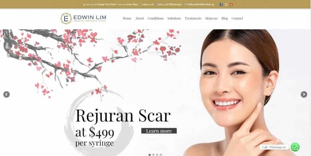 best acne treatment in singapore_edwin lim