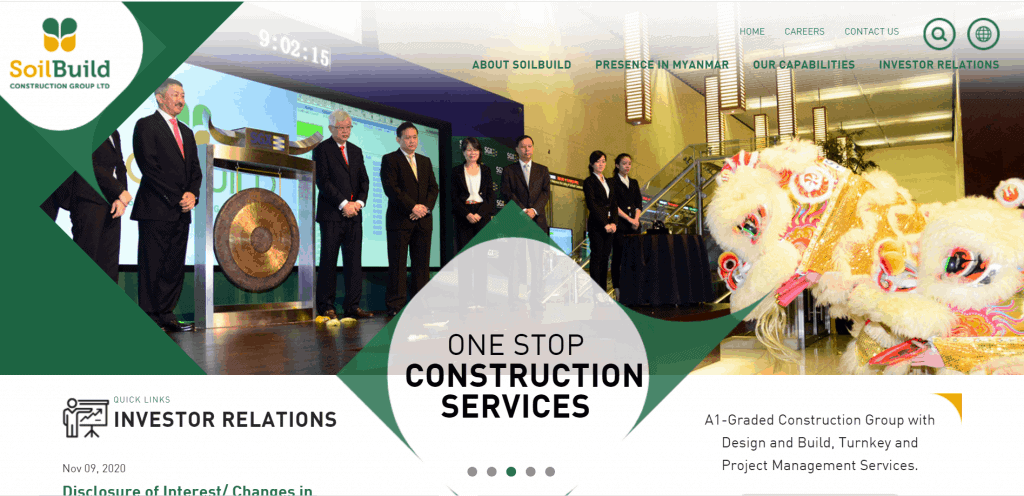 best construction company singapore