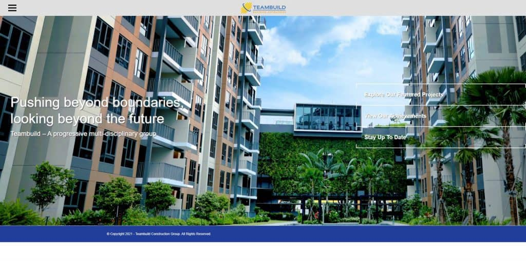 best construction company in singapore_teambuild construction group