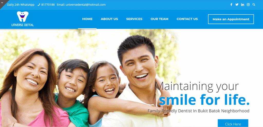 best dentist singapore