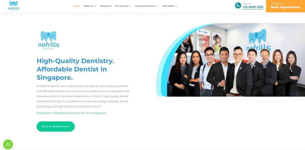 best dentist in singapore_nofrills dental