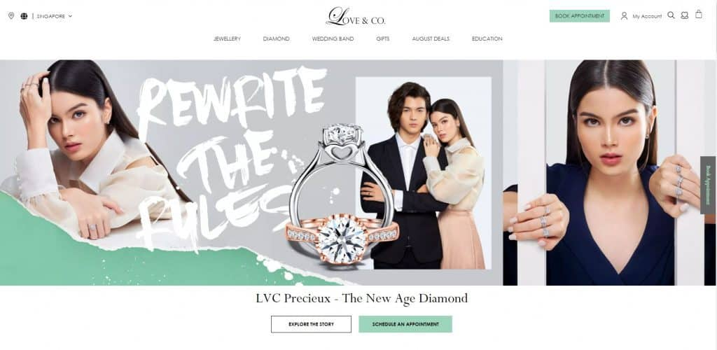 best engagement ring in singapore_love and co