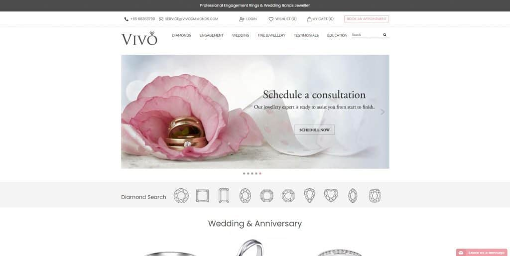 best engagement ring in singapore_vivo diamond