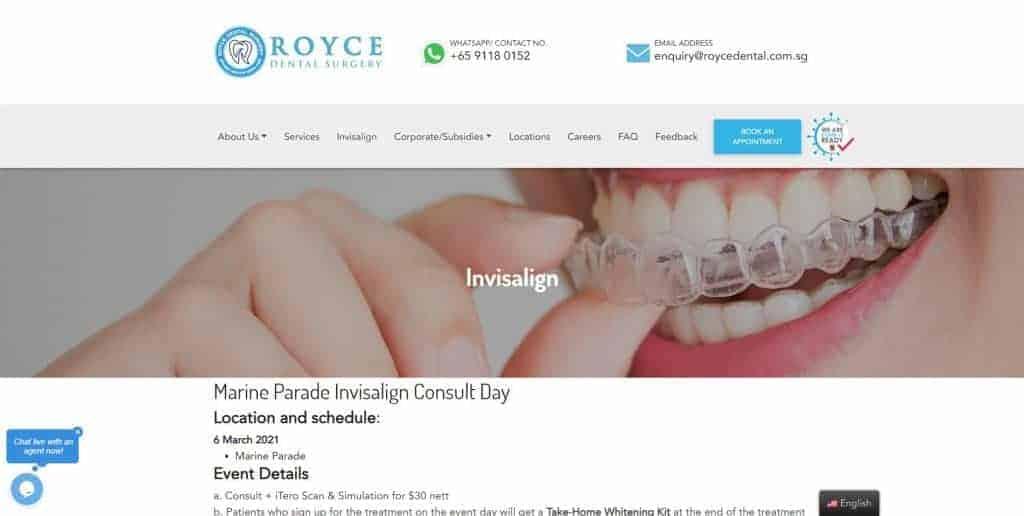 best invisalign in singapore_royce dental surgery