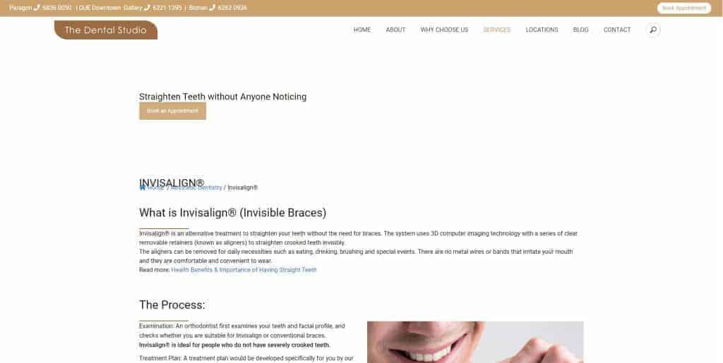 best invisalign in singapore_the dental studio