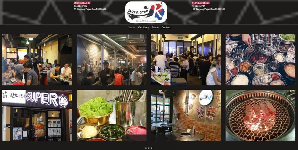 best korean bbq in singapore_superstar k