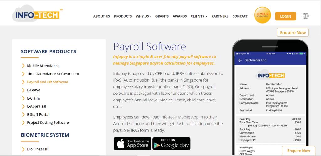 best payroll system singapore