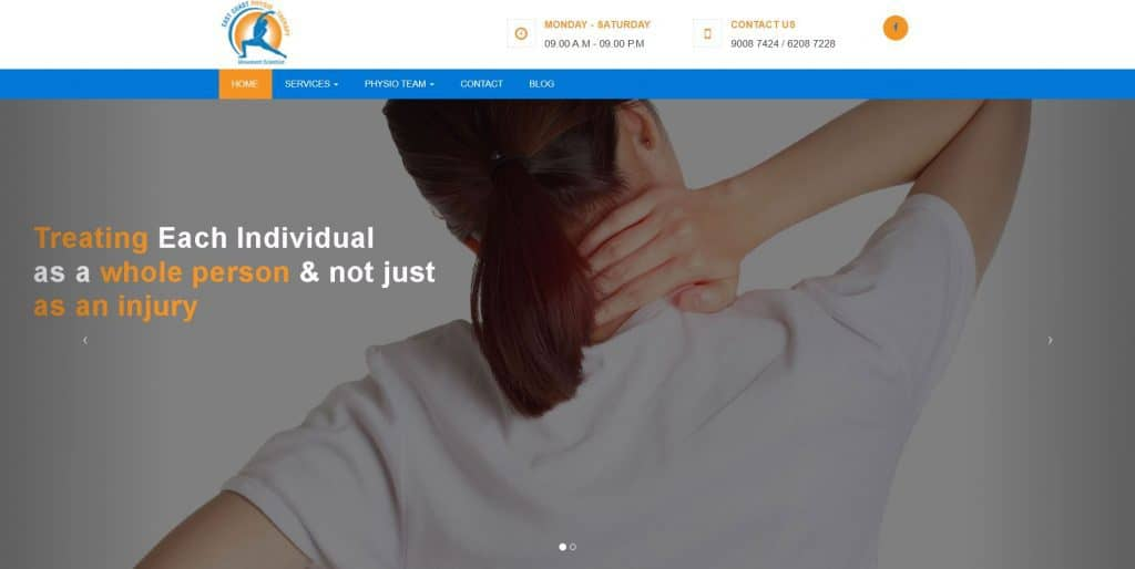 best physiotherapy in singapore_east coast physiotherapy