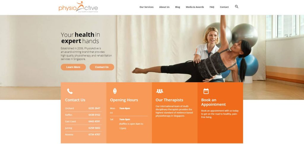 best physiotherapy in singapore_physioactive